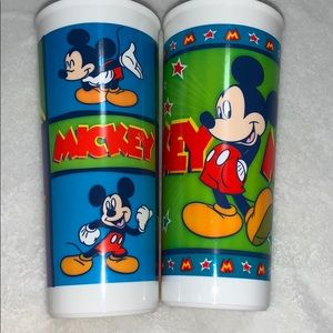 Tupperware Disney Mickey Mouse Cups Set #1